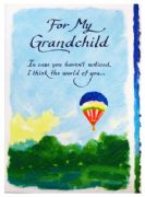 For My Grandchild Card
